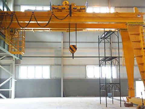 double beam semi gantry crane supplier