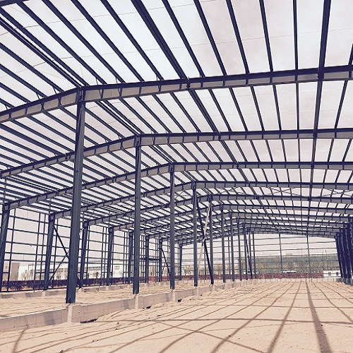 Lightweight steel structure for sale