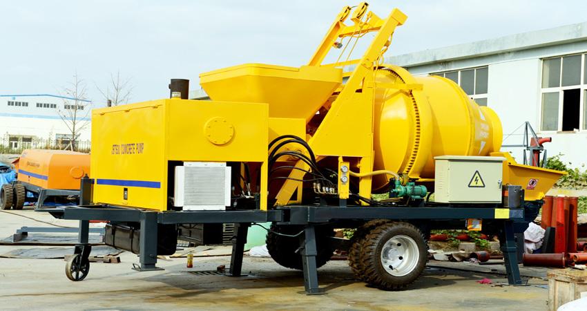 JBS30 concrete mix pump