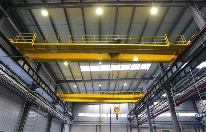Explosion proof double girder bridge crane