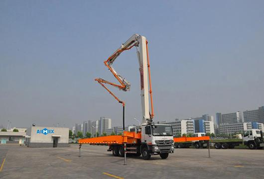 Truck Concrete Blower For Construction